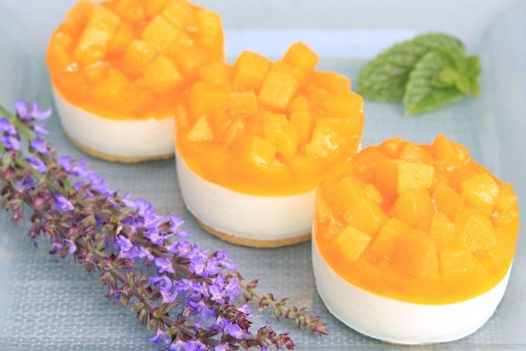 Peaches and cream tarts