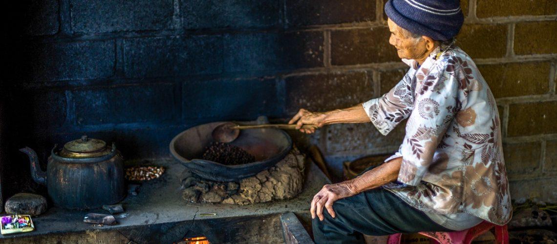 Roasting cooking method